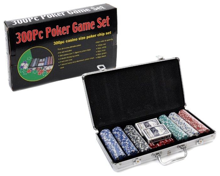 Набор для покера Игротрейд IT105789, 300 фишек