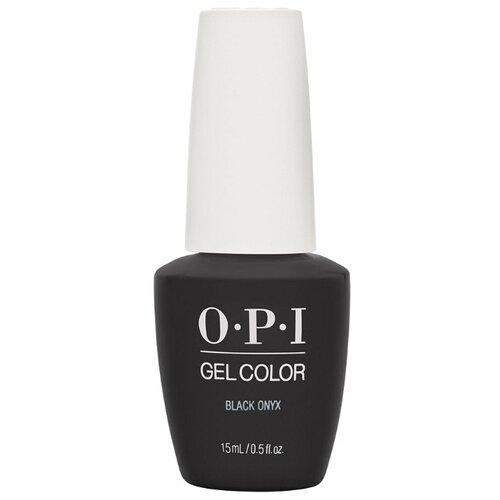 Гель-лак для ногтей OPI Classics GelColor, 15 мл, оттенок black onyx лак opi nail lacquer classics 15 мл оттенок she's a bad muffuletta