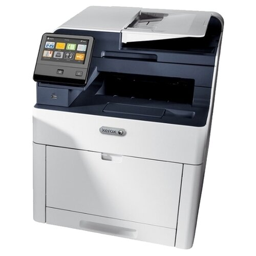 Фото - МФУ Xerox WorkCentre 6515DNI, белый/синий парогенератор tefal gv8977 2400вт белый синий