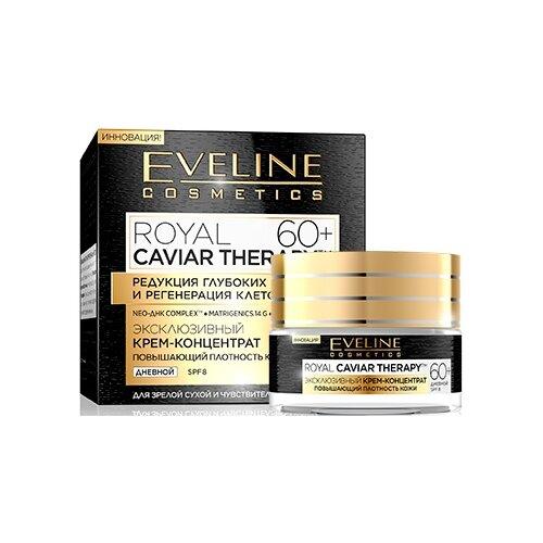 Eveline Cosmetics Royal Caviar Therapy Эксклюзивный крем-концентрат для лица 60+, 50 мл