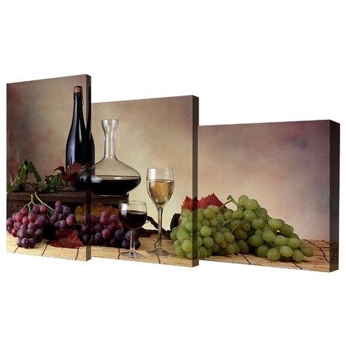 Модульная картина Toplight TL-MM1041 78х50 см картина бордовые тюльпаны трихтин модульная 2943431 125 х 73 см