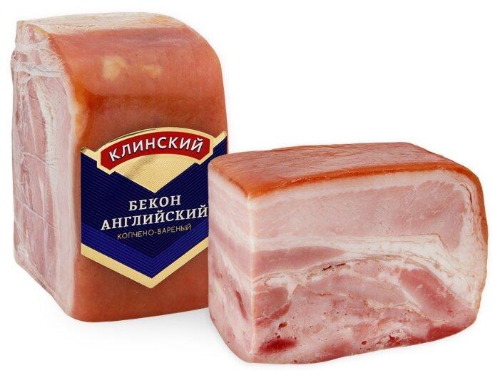 Клинский Мясокомбинат Бекон Английский свиной копчено-вареный 400 г