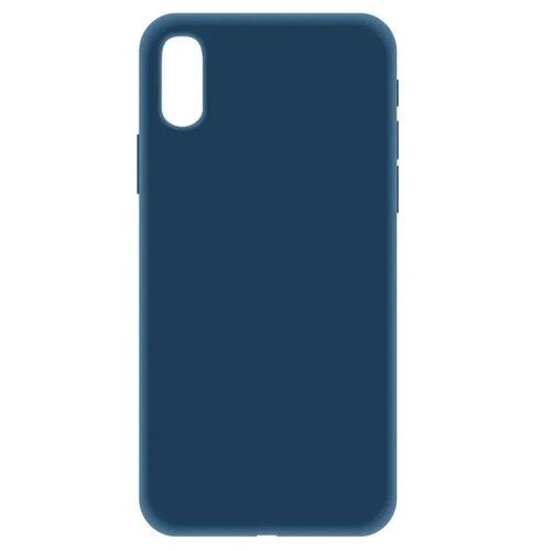 Купить Чехол LuxCase Soft Touch Premium для Apple Iphone XS синий