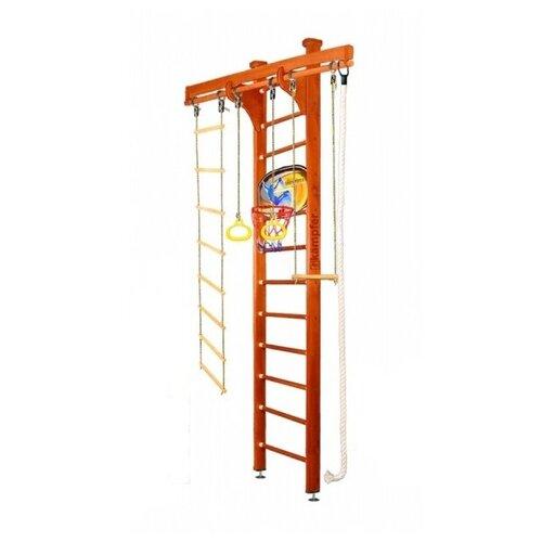 Купить Шведская стенка Kampfer Wooden Ladder Ceiling Basketball Shield высота 3 м классический, Игровые и спортивные комплексы и горки