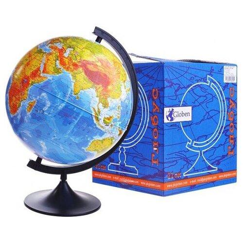 Фото - Глобус Земли Классик - Физический, 21 см globen глобус земли globen физический с подсветкой 150 мм