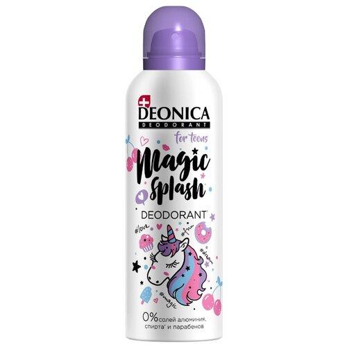 Deonica дезодорант-антиперспирант, спрей, Magic Splash for Teens, 125 мл