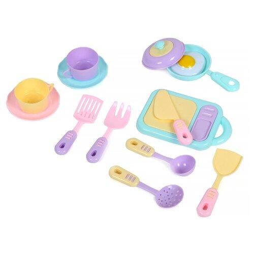 Купить Набор посуды Girl's Club IT105207 розовый/голубой, Игрушечная еда и посуда