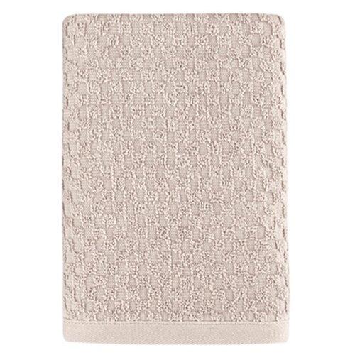 Полотенце махровое KARNA с жаккардом DAMA 50x90 см 1/1; Бежевый размер 50 х 90 полотенце махровое karna с жаккардом dama 50x90 см 1 1 белый размер 50 х 90