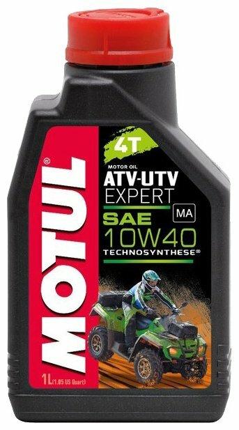 Моторное масло Motul ATV-UTV Expert 4T 10W40 1 л — купить по выгодной цене на Яндекс.Маркете