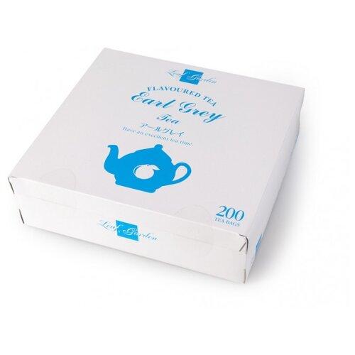 Чай черный Ти Тэнг Leaf garden Earl grey в пакетиках, 200 шт. twinings earl grey tea черный ароматизированный чай в пакетиках 25 шт