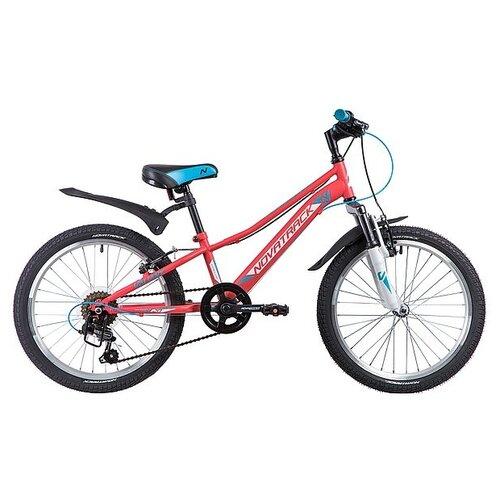Подростковый горный (MTB) велосипед Novatrack Valiant 20 (2019) коралловый (требует финальной сборки) велосипед novatrack valiant черный 20