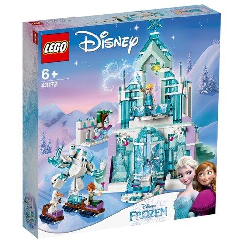 Купить Конструктор LEGO Disney Princess 43172 Волшебный ледяной замок Эльзы, Конструкторы