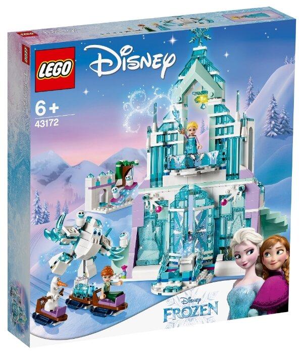 Конструктор LEGO Disney Princess 43172 Волшебный ледяной замок Эльзы
