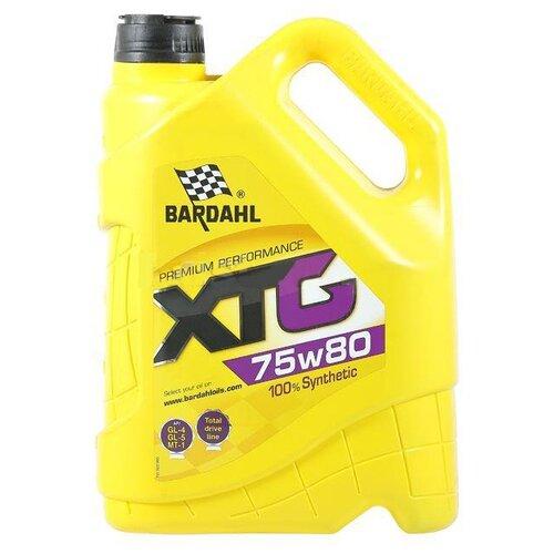Трансмиссионное масло Bardahl XTG 75W-80 5 л