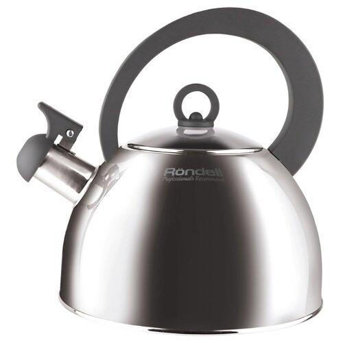 Rondell Чайник Strike Grey RDS-922 2 л стальной/серый чайник rondell odem 2 4l rds 1059