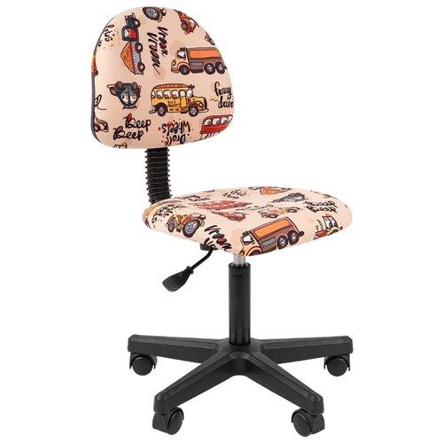 Компьютерное кресло Chairman Kids 104 детское, обивка: текстиль, цвет: автобусы компьютерное кресло chairman kids 106 детское обивка текстиль цвет автобусы