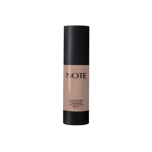 Купить Note Тональный крем Detox & Protect Foundation, 35 мл, оттенок: 104 sandstone