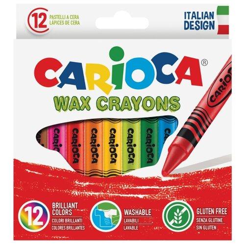Купить Carioca Восковые мелки 42365 12 шт, Пастель и мелки