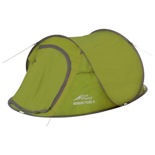 Палатка TREK PLANET Moment Plus 3 зеленый палатка 3 м larsen nevada plus