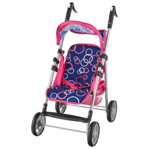 Прогулочная коляска Melobo / Melogo K0106 розовый/синий коляска трансформер melobo melogo 9336 розовый цветочки