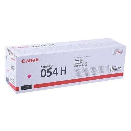 Фото - Картридж лазерный CANON (054HM) для i-SENSYS LBP621Cw/MF641Cw/645Cx, пурпурный, ресурс 2300 страниц, оригинальный, 3026C002 картридж лазерный canon 055hm для lbp663 664 mf742 744 746 пурпурный оригинальный ресурс 5900 страниц 3018c002