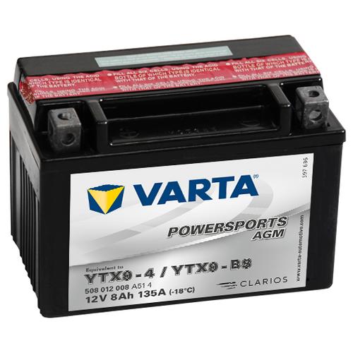 цена на Мото аккумулятор VARTA Powersports AGM (508 012 008)