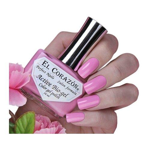 Гель El Corazon Active Bio-gel polish Cream, 16 мл, 423/346 chi luxury black seed oil curl defining cream gel