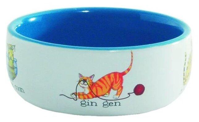 Миска Beeztees 11,5 см Играющие кошки
