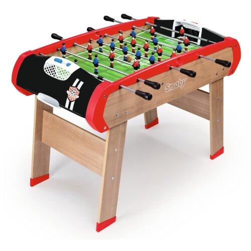 Игровой стол для футбола Smoby Чемпионы черный/красный