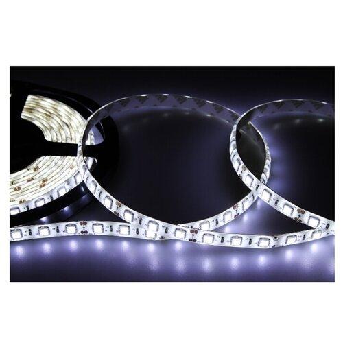 Светодиодная LED лента LAMPER 5 м силикон, 10 мм, IP65, SMD 5050, 60 LED/m, 12 V, цвет свечения белый