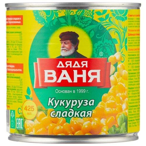 Кукуруза сладкая Дядя Ваня жестяная банка 340 г перец халапеньо дядя ваня