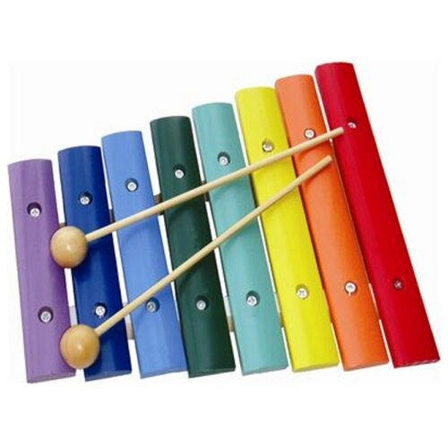 Купить Wooden Toys ксилофон А-022 красный, Детские музыкальные инструменты