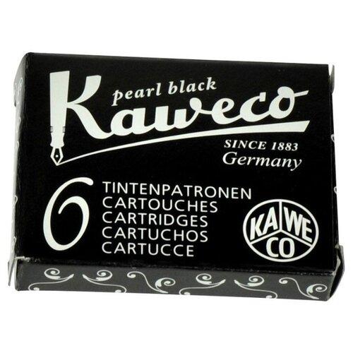 Фото - Картридж для перьевой ручки Kaweco Ink Cartridges 6-Pack (6 шт.) черный lamy картридж для перьевой ручки синий 5 шт