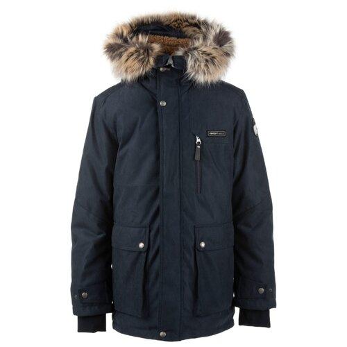 Купить Парка KERRY Jari K20668 размер 170, 229 темно-синий, Куртки и пуховики