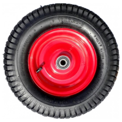 Колесо для тачки VicArt пневматическое 6,00-6 D16 360 360 мм