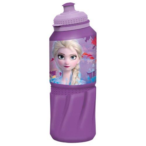 Бутылка для воды, для безалкогольных напитков Stor спортивная 0.53 пластик холодное сердце 2