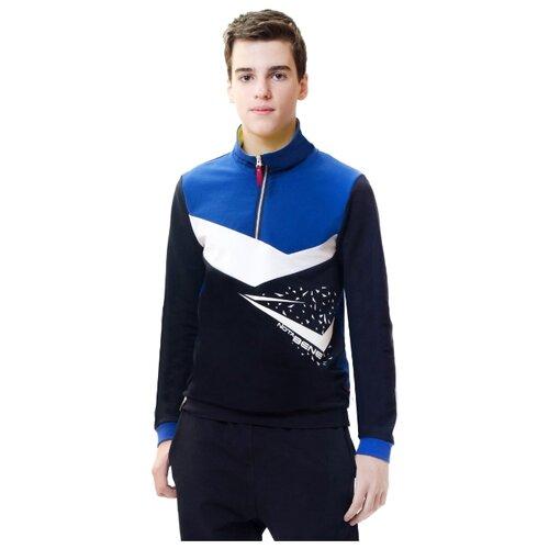 Купить Олимпийка Nota Bene размер 134, синий, Толстовки