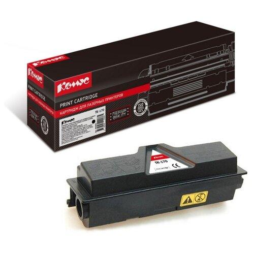 Фото - Картридж лазерный Комус TK-170 черный, для Kyocera FS-1320D картридж лазерный комус tk 580k черный для kyocera fs c5150dn