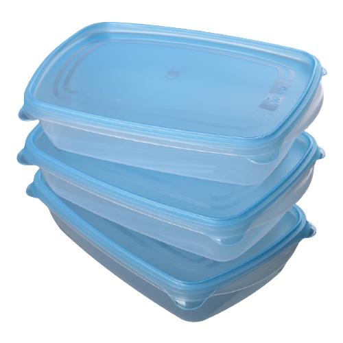 gerard darel футболка Darel Plastic Набор контейнеров Трио 1.3 л, 3 шт.