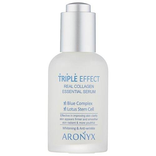 Купить Aronyx Triple Effect Real Collagen Essential Serum Сыворотка для лица с морским коллагеном, 50 мл
