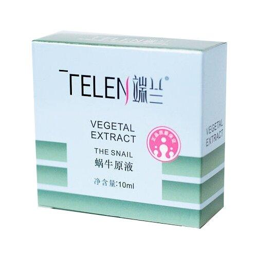 Telen Vegetal Extract The Snail Сыворотка с растительными экстрактами и улиточным муцином 10 млУвлажнение и питание<br>
