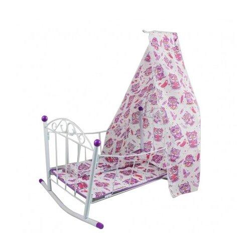 Кроватка-люлька с балдахином Совушка
