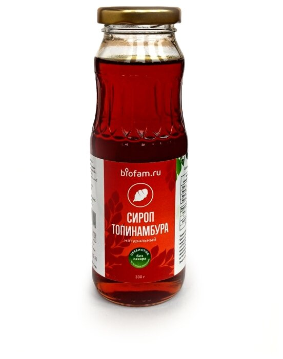Biofam.ru Сироп из топинамбура жидкость