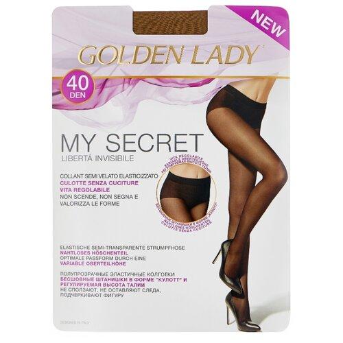 цена Колготки Golden Lady My Secret 40 den, размер 4-L, melon (бежевый) онлайн в 2017 году