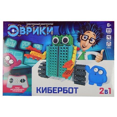 Купить Электромеханический конструктор ЭВРИКИ 3584368 Кибербот 2в1, Конструкторы