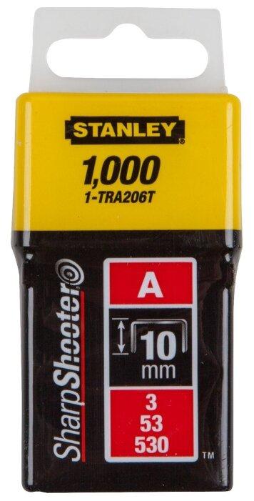 Скобы STANLEY 1-TRA206T тип 53 для степлера, 10 мм