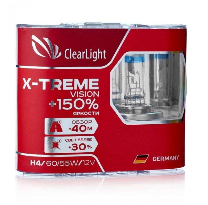Лампа автомобильная галогенная ClearLight X-treme Vision MLH4XTV150... — купить по выгодной цене на Яндекс.Маркете
