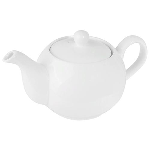 KunstWerk Заварочный чайник A18546, 0.45 л, белый