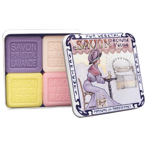 Купить Набор кускового мыла La Savonnerie de Nyons Le Métro, 100 г, 4 шт.