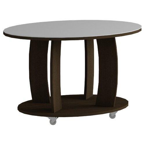 детские столы и стулья leset стол журнальный ls 747 корпус венге Стол журнальный LS 738 02.11 (корпус-венге,стекло-белый)